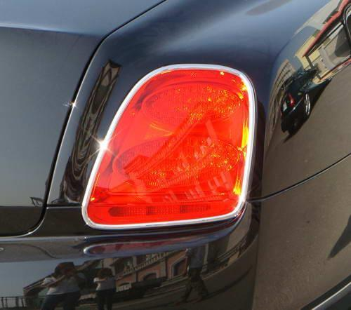 Continental Flying Spur 2006-2012 Chrome Tail Light Trims - 55tech Motors