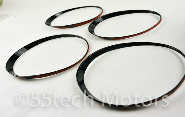 CONTINENTAL GT GTC Black HEADLIGHT TRIMS - 55tech Motors