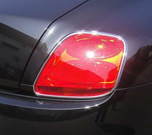CONTINENTAL GT GTC CHROME Tail Light TRIMS - 55tech Motors