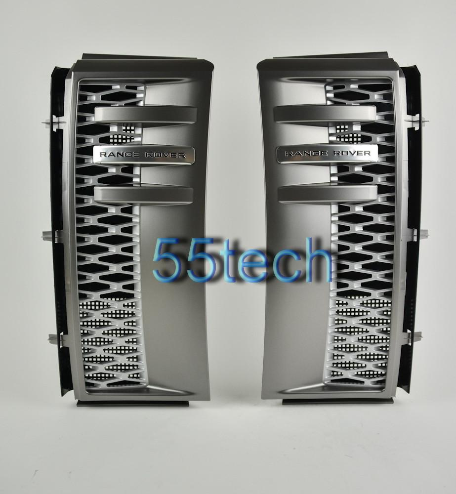 Land Rover Range Rover L322 Side Fender Grilles - 55tech Motors