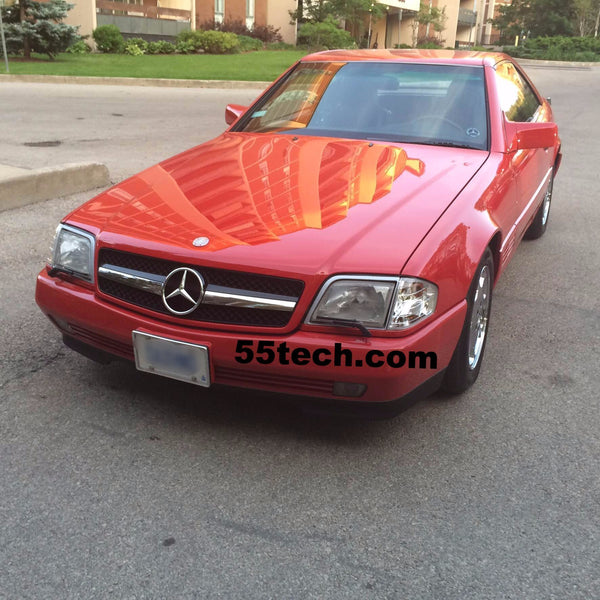 Mercedes Benz R129 1990~2002 SL-Class 1 Fins Style Grille