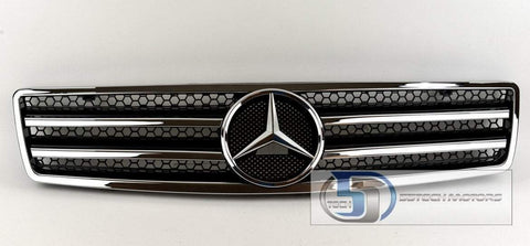 Mercedes Benz R129 1990~2002 SL-Class Grille with chrome frame - 55tech Motors