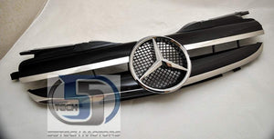 Mercedes Benz R170 SLK 1997~2004 1 Fin Grille - 55tech Motors