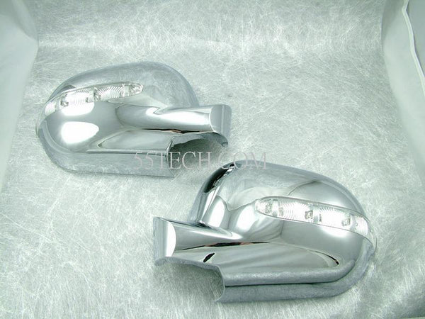 Mercedes Benz W163 ML Class 1997~2001 Mirror Covers LED Signal Lights - 55tech Motors