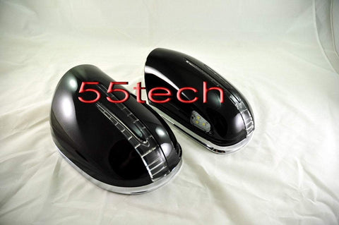 Mercedes Benz W164 ML-Class 2005~2008 New Arrow Type Mirror Covers - 55tech Motors
