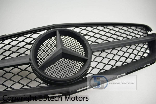 Mercedes Benz W204 2008~2011 AMG Style Grille - 55tech Motors