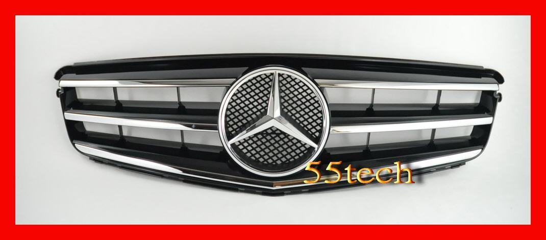 Mercedes Benz W204 2008~2011 Avantgarde Style Grille - 55tech Motors