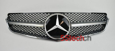 Mercedes-benz W207 2 door coupe Grill ( Works with Distronic Function) - 55tech Motors