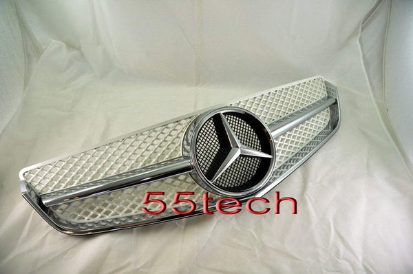 Mercedes-benz W207 2 door coupe Single Fin Grill - 55tech Motors
