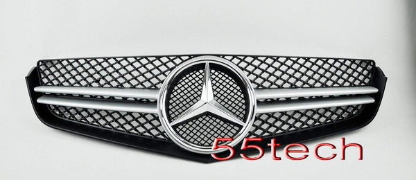 Mercedes-benz W207 2 door coupe Single Fin Grill ( Illuminated LED Star Emblem) - 55tech Motors