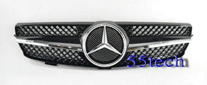 Mercedes Benz W209 CLK 2003~2009 1 Fin Grille - 55tech Motors
