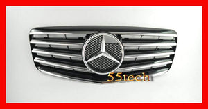 Mercedes Benz W211 2007~2009 E-Class 5 Fins Grille - 55tech Motors