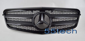 Mercedes Benz W212 E-Class Grill ( Special Edition 2 TONE BLACK) - 55tech Motors