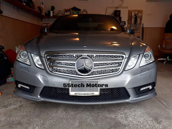 Mercedes Benz W212 E-Class Grille ( FOR DISTRONIC) - 55tech Motors