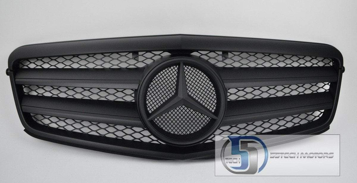 Mercedes Benz W212 E-Class Grille ( Matte Black ) - 55tech Motors