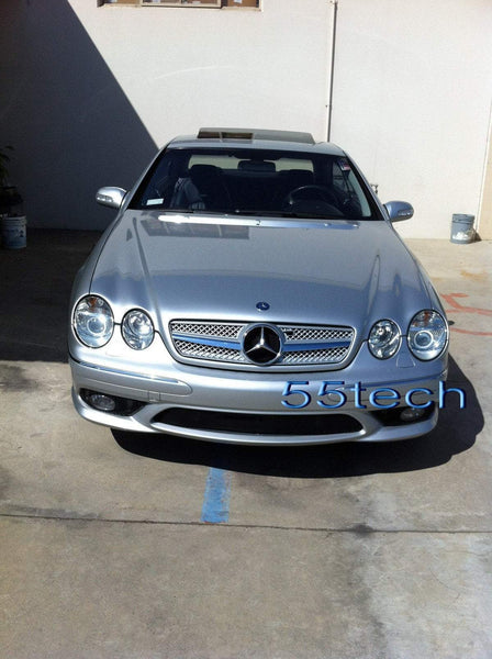 Mercedes Benz W215 2000~2006 CL Class 1 Fin Grille ( No Distronic) - 55tech Motors
