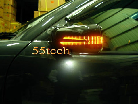 Mercedes Benz W219 CLS Arrow Style LED Side Mirror Covers - 55tech Motors