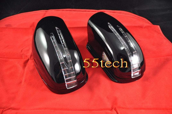 Mercedes Benz W220 2000~2002 S-Class Arrow Style LED Side Mirror Covers - 55tech Motors