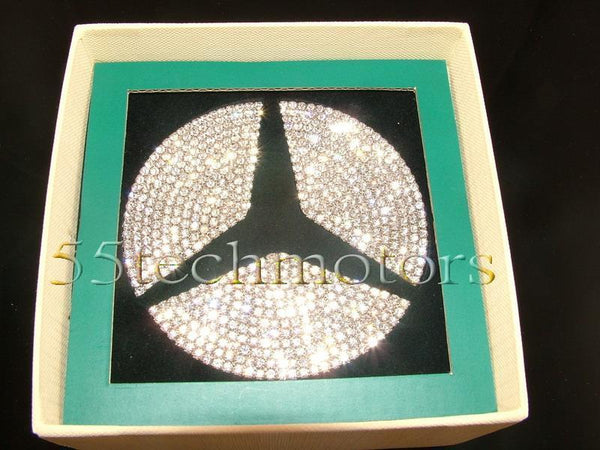 Mercedes Benz W220 2000~2006 S-Class Trunk Crystal Badge - 55tech Motors