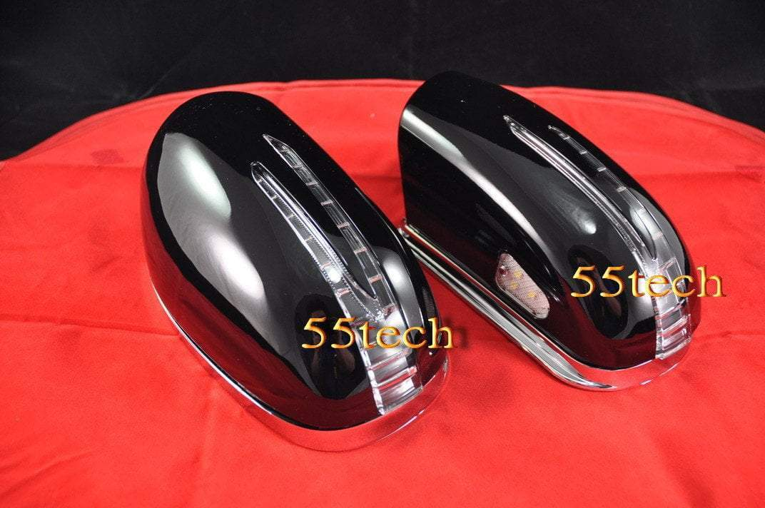 Mercedes Benz W220 2003~2006 S-Class Arrow LED Side Mirror Covers - 55tech Motors