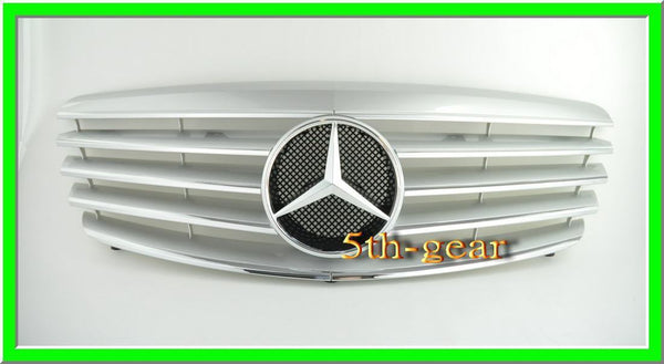 Mercedes Benz W221 2007~2009  CL Style 5 Fins Grille - 55tech Motors