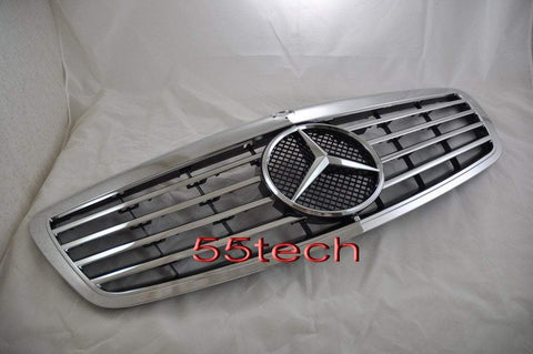 Mercedes Benz W221 2007~2009 Classic Grille - 55tech Motors