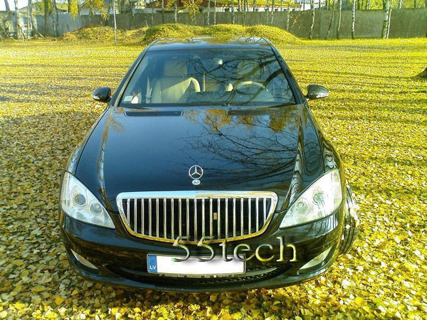 Mercedes Benz W221 2007~2009 S-Class Maybach Style Grille - 55tech Motors