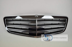 "Mercedes Benz W221 2010~2012 S-Class ""S65"" Style AMG Grille - 55tech Motors"