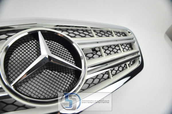 Mercedes Benz W221 2010 2011 2012 2013 2014 S-Class Grille - 55tech Motors