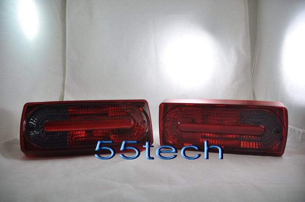 Mercedes Benz W463 G-Class 2010 Style Tail Light Covers - 55tech Motors