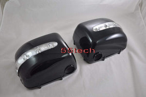 Mercedes Benz W463 G Class Side Mirror Covers with LED Blinker - 55tech Motors