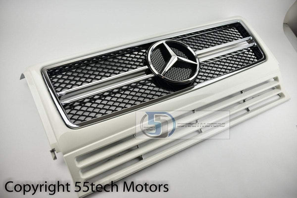 Mercedes Benz W463 G Wagon 2013 Style G63 AMG Style Grille - 55tech Motors
