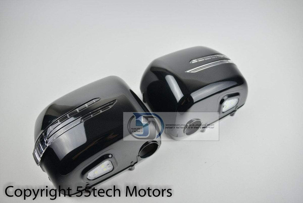 Mercedes Benz G wagon class W463 Mirror Covers with NEW style LED