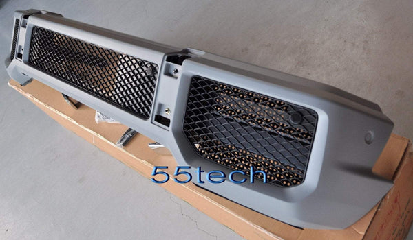 Mercedes G Class W463 Body kit Front Bumper 1986~2016 G500 Primed AMG Style - 55tech Motors