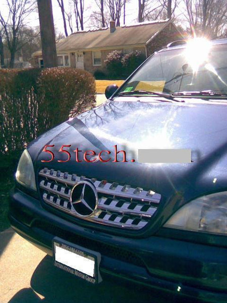 Mercedes W163 ML-Class 1997~2004 Sports Grille - 55tech Motors