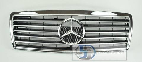 Mercedes W202 1993~2000 C-Class Sports Grille w/ Small Star - 55tech Motors