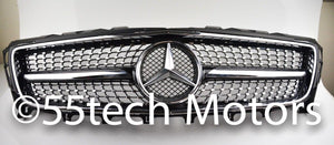 Mercedes W218 2012-2014 CLS Daimond Grille - 55tech Motors