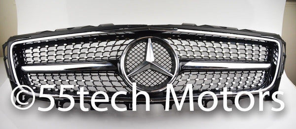 Mercedes W218 2012-2014 CLS Diamond Grille CLS550 CLS350 - 55tech Motors