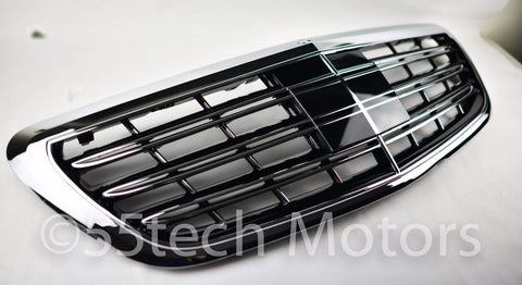 MERCEDES W222 NEW S-CLASS S65 MAYBACH STYLE GRILLE - 55tech Motors