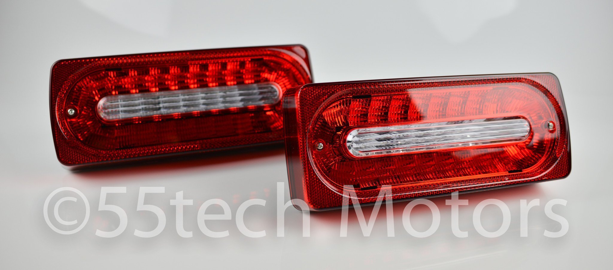 Mercedes W463 G Class LED Tail Light 1986~2016 G550 G500  G350 G63 G55 - 55tech Motors