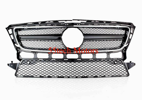 MERCEDES CLS550 W218 CLS GRILLE- AMG Look 2012 2013 and 2014 CLS350 - 55tech Motors