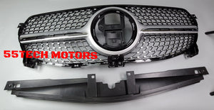 MERCEDES W167 GLE 2020-2021 DIAMOND GRILLE