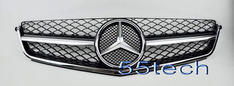 W204 C63 AMG Grille 2008~2011 (C63 AMG ONLY) - 55tech Motors