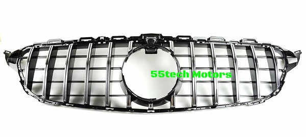 W205 GT-R Style Vertical Grille - 55tech Motors