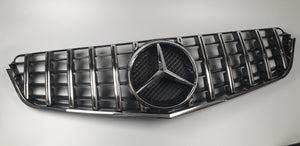 Mercedes Benz W207 E350 E550 COUPE Grille Grill GT GTR STYLE PANAMERICANA - 55tech Motors