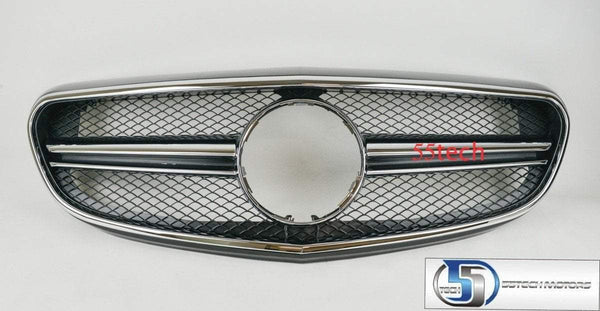 W212 2014~2015 E class E63 AMG Style Grille ( For Luxury model only) - 55tech Motors