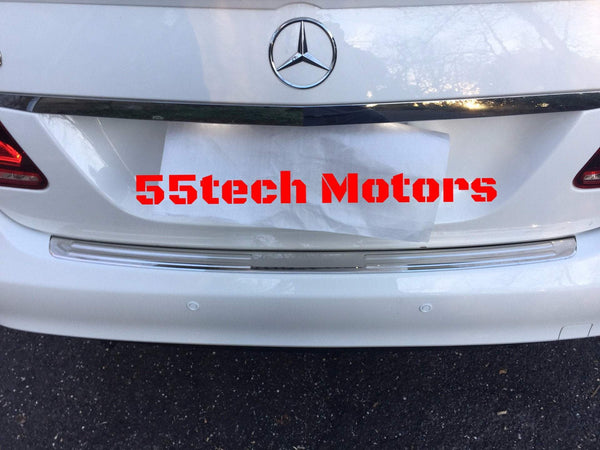 W212 Trunk Stainless protection panel 304 SS - 55tech Motors