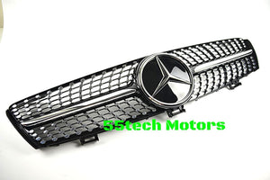 W219 CLS 2004~2008 Diamond Style Grille - 55tech Motors