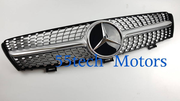 W219 CLS 2009~2010 Diamond Style Grille - 55tech Motors