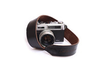 leather camera strap belt with customised logo